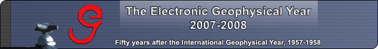 The Electronic Geophysical Year: 2007-2008